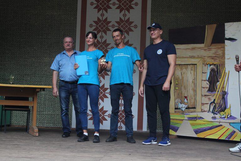 Олеся Петрашко и Иван Демидко принесли команде города Браслава 1 место в технике велосипедного туризма!